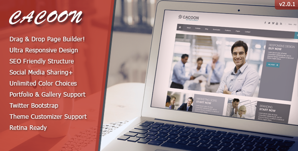 Cacoon - Responsive Business Wordpress Theme - Business Corporate