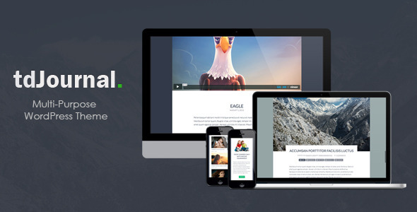 tdJournal - Multi-Purpose Responsive Theme - Portfolio Creative
