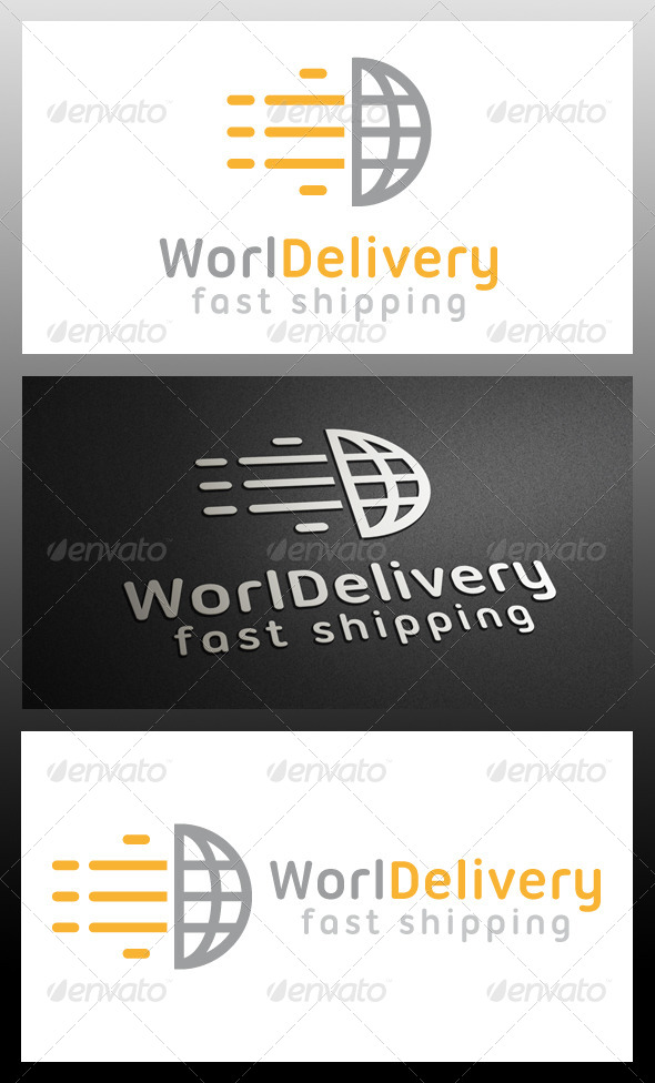 GraphicRiver World Delivery Logo Template 5339863