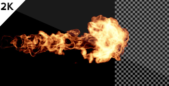 [VideoHive 549178] Fire Blast 2K | Motion Graphics