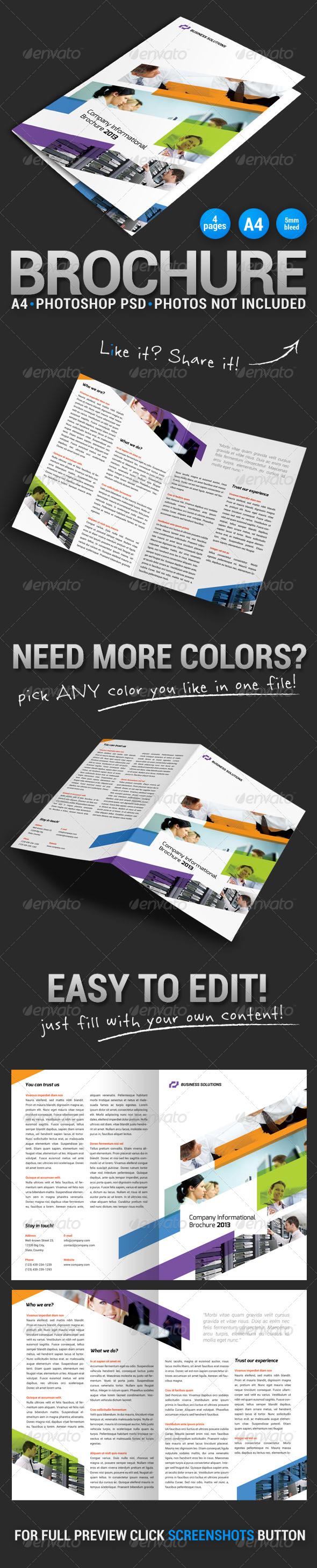 GraphicRiver Bi-fold Brochure 5 5341125