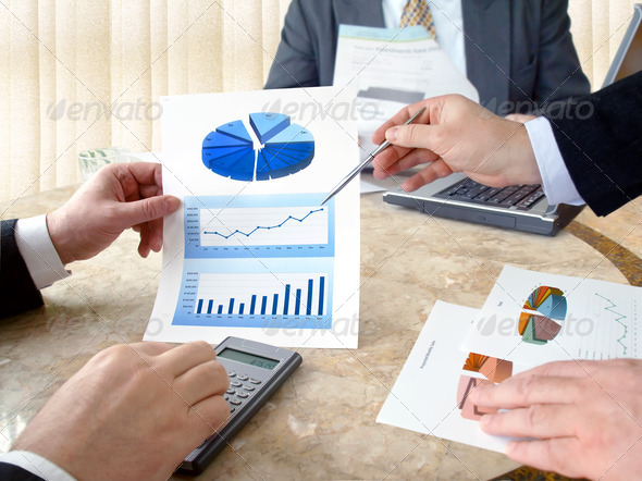 Business Meeting. - Stock Photo - Images