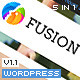 Fusion Responsive Premium Wordpress Theme - ThemeForest Item for Sale