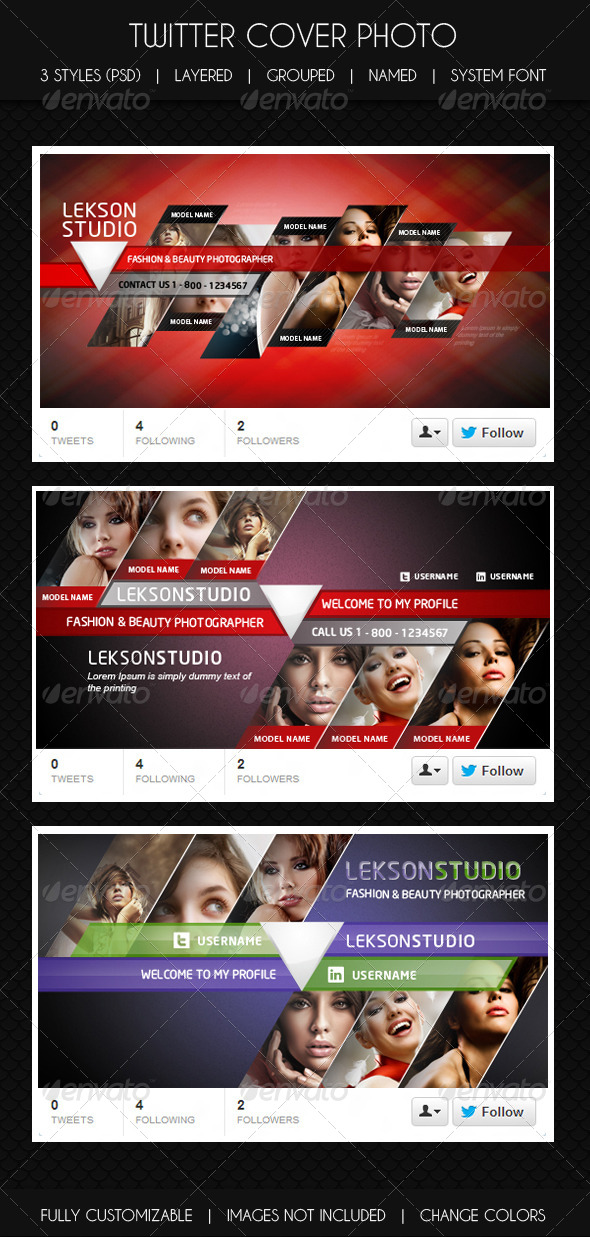 GraphicRiver Twitter Cover 5344090