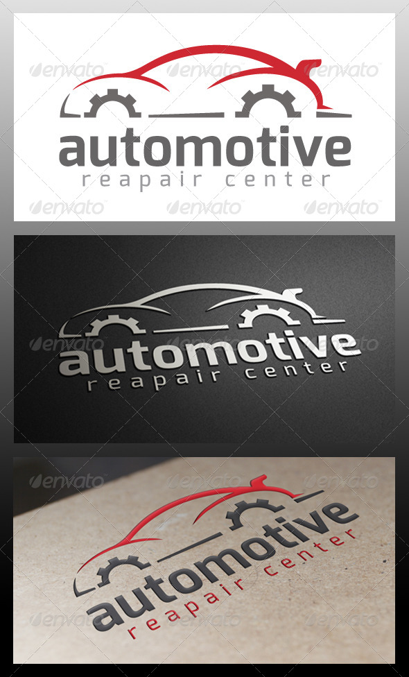 GraphicRiver Automotive Repair Logo Template 5344091