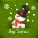 Snowman illustration for Christmas Design - GraphicRiver Item for Sale