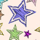 Hand Drawn Stars Seamless Patterns - GraphicRiver Item for Sale