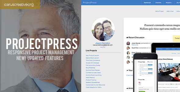 ProjectPress :: Project Management for Wordpress - Miscellaneous WordPress