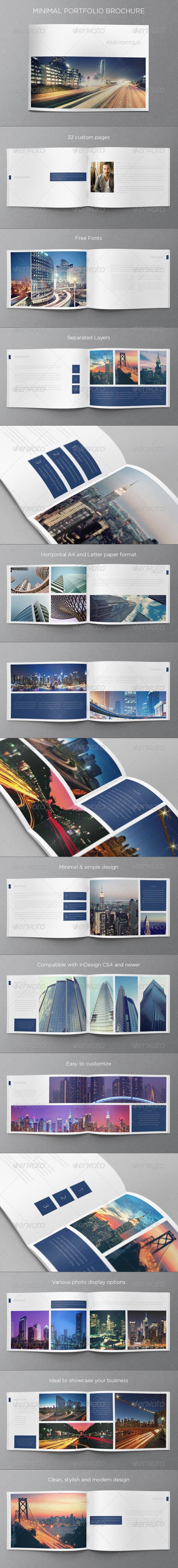 GraphicRiver Minimal Portfolio Brochure 5291229