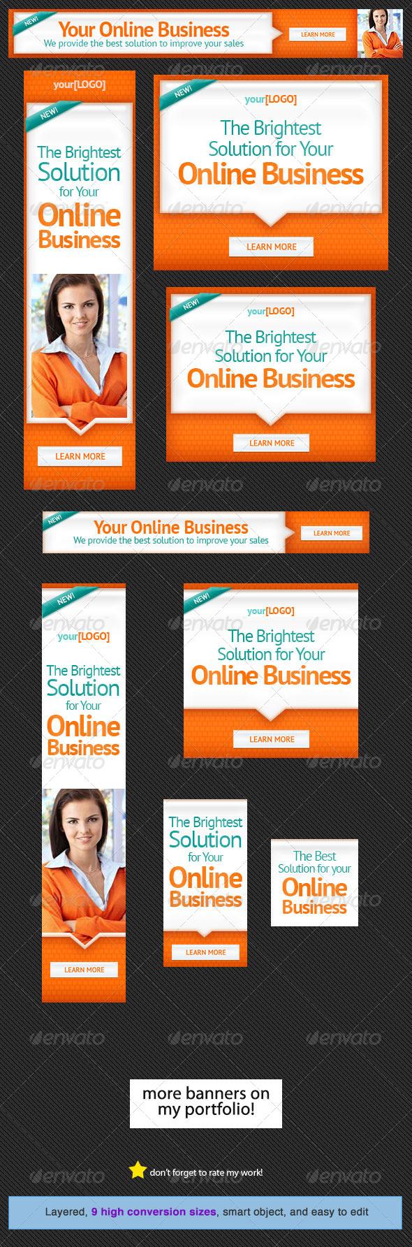 GraphicRiver Corporate Web Banner Design Template 21 5350705