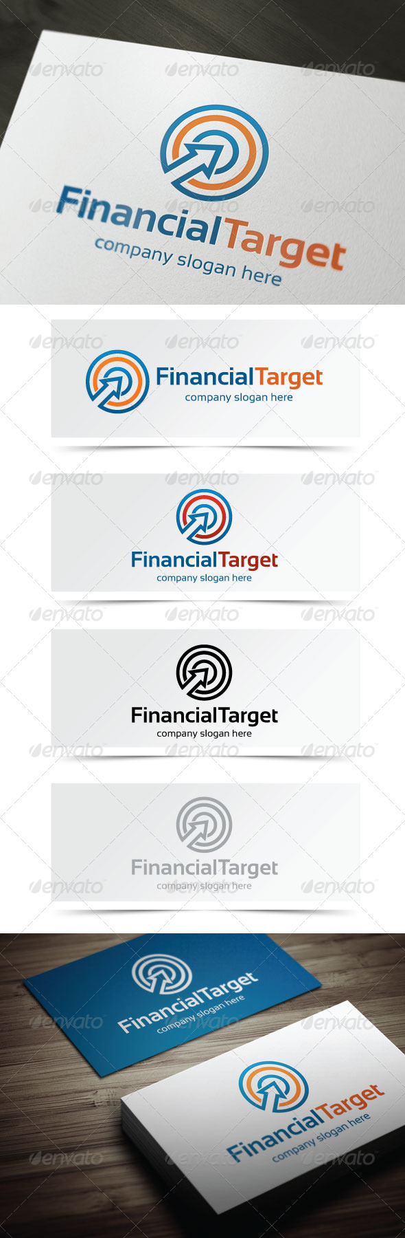 GraphicRiver Financial Target 5351323