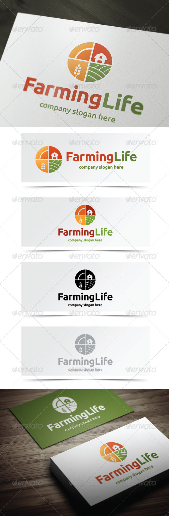 GraphicRiver Farming Life 5351368