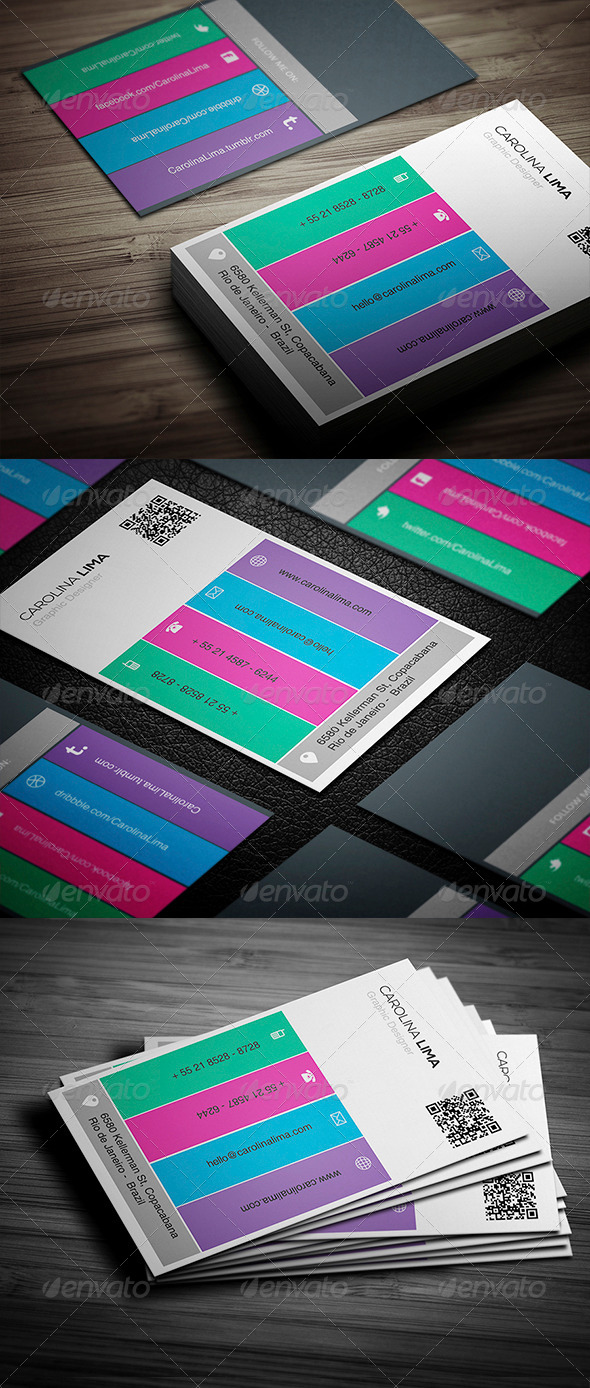 GraphicRiver Creative Business Card 009 5352110