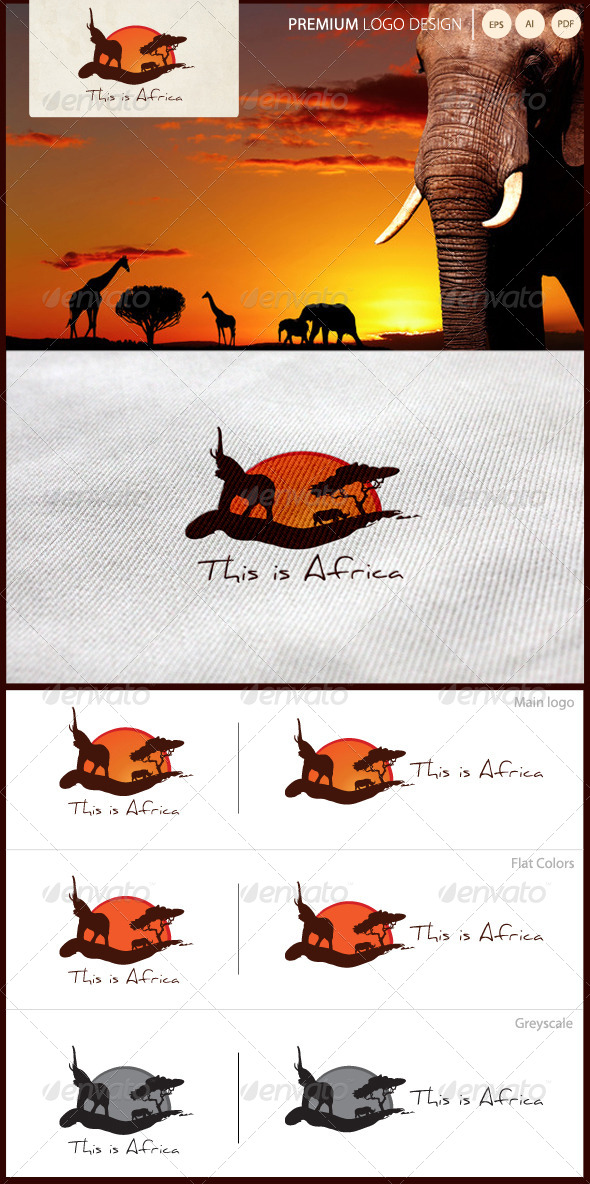 GraphicRiver This Is Africa Travel Logo 5322344