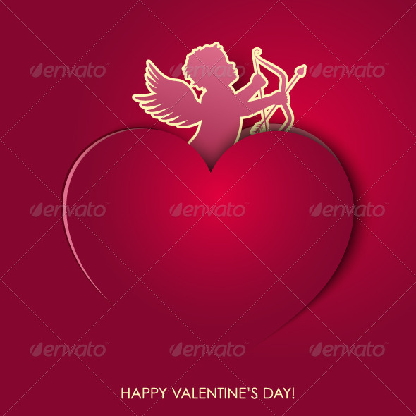 GraphicRiver Happy Valentines Day Background 5352607