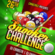 Snooker Challenge Flyer Template - GraphicRiver Item for Sale