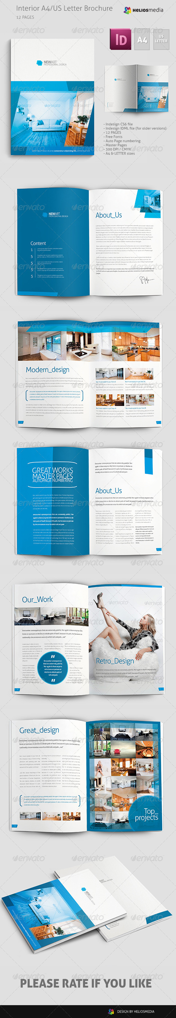 GraphicRiver Interior Brochure Catalog 5354487
