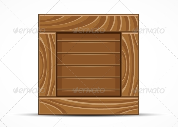 GraphicRiver Wooden Box 5355882