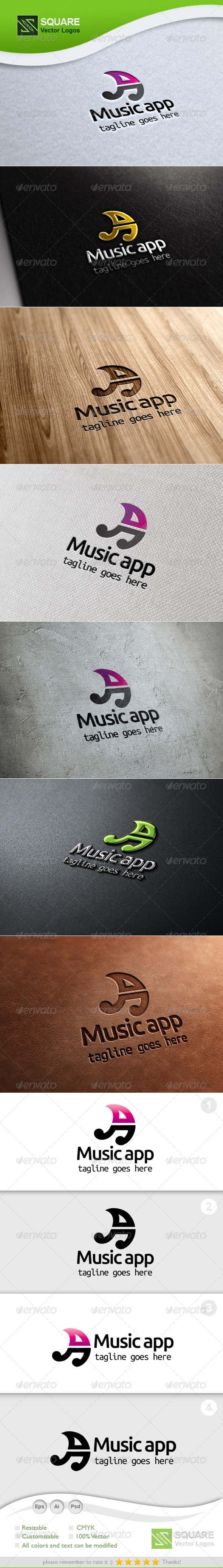GraphicRiver A Music Vector Logo Template 5356416