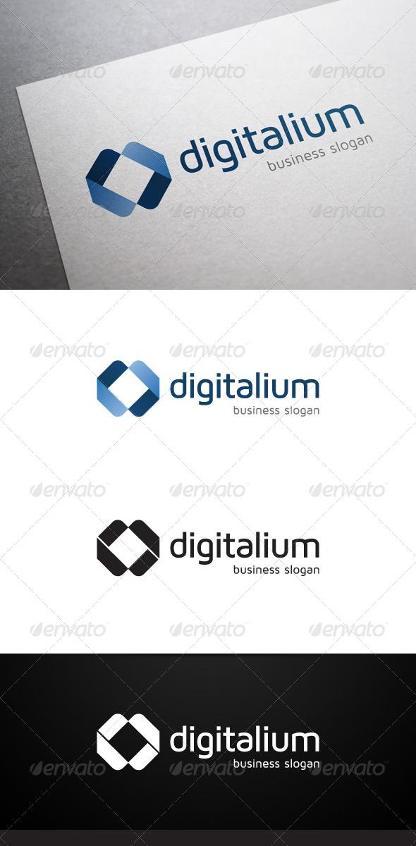 GraphicRiver Digitalium Logo 5357774