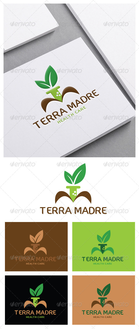 GraphicRiver Terra Madre Logo Template 5357164