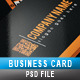 Business Card 11 - GraphicRiver Item for Sale