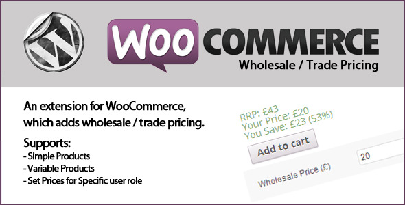 WooCommerce Wholesale Prices - CodeCanyon Item for Sale
