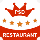 The Classic Restaurant - PSD - ThemeForest Item for Sale