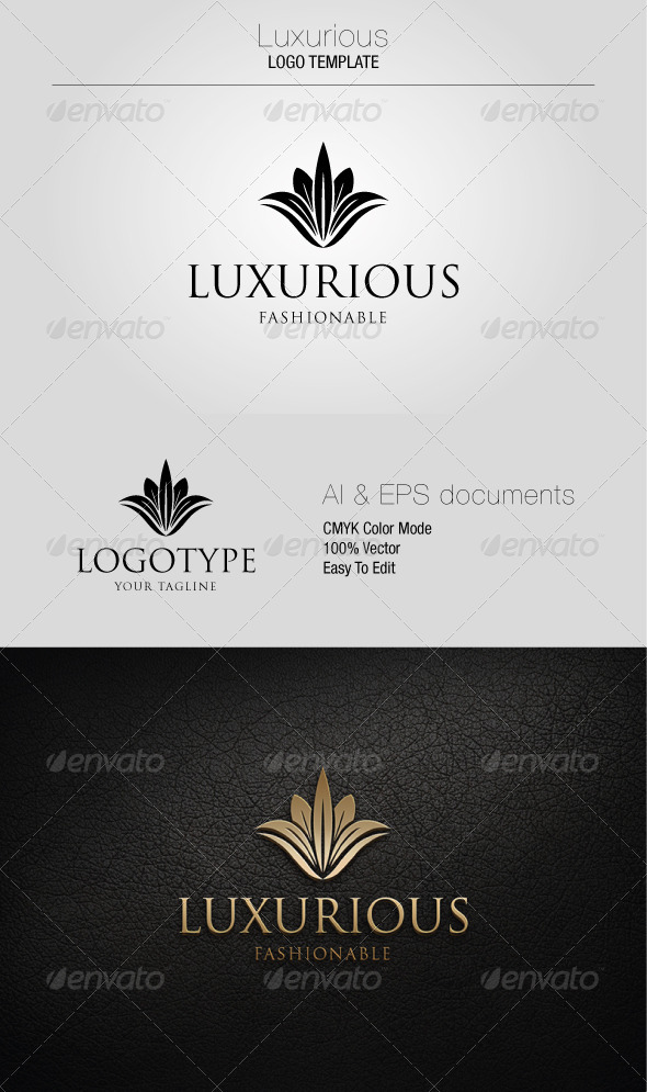 GraphicRiver Luxurious Logo Template 5361179