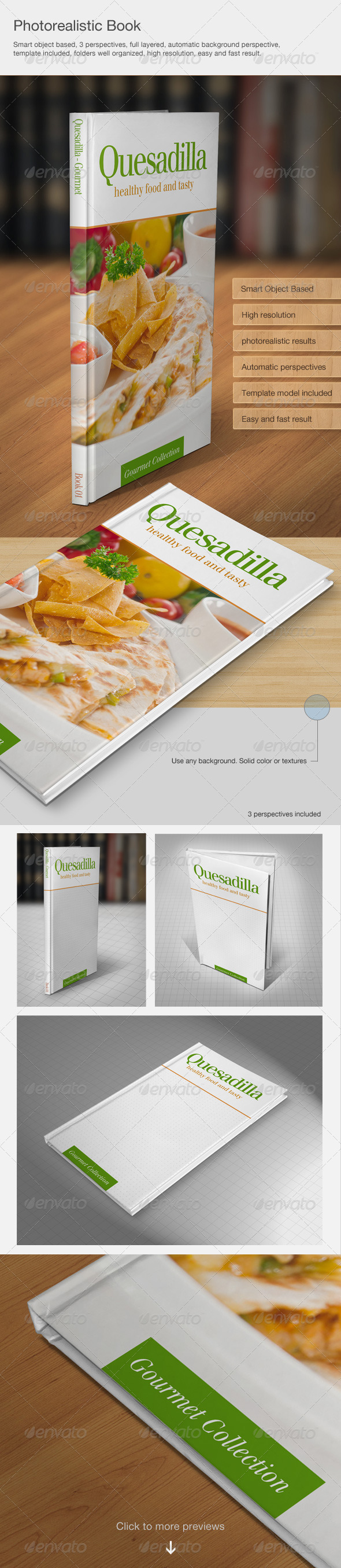 GraphicRiver Photorealistic book 5361180