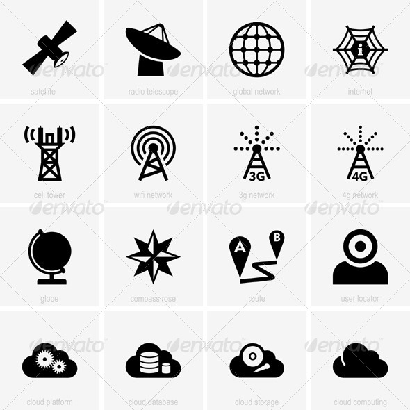 GraphicRiver Communication Icons 5361344