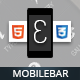 Mobilebar Mobile Retina | HTML5 & CSS3 And iWebApp - ThemeForest Item for Sale