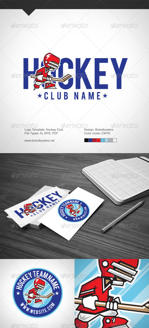 GraphicRiver Hockey Club 5350106