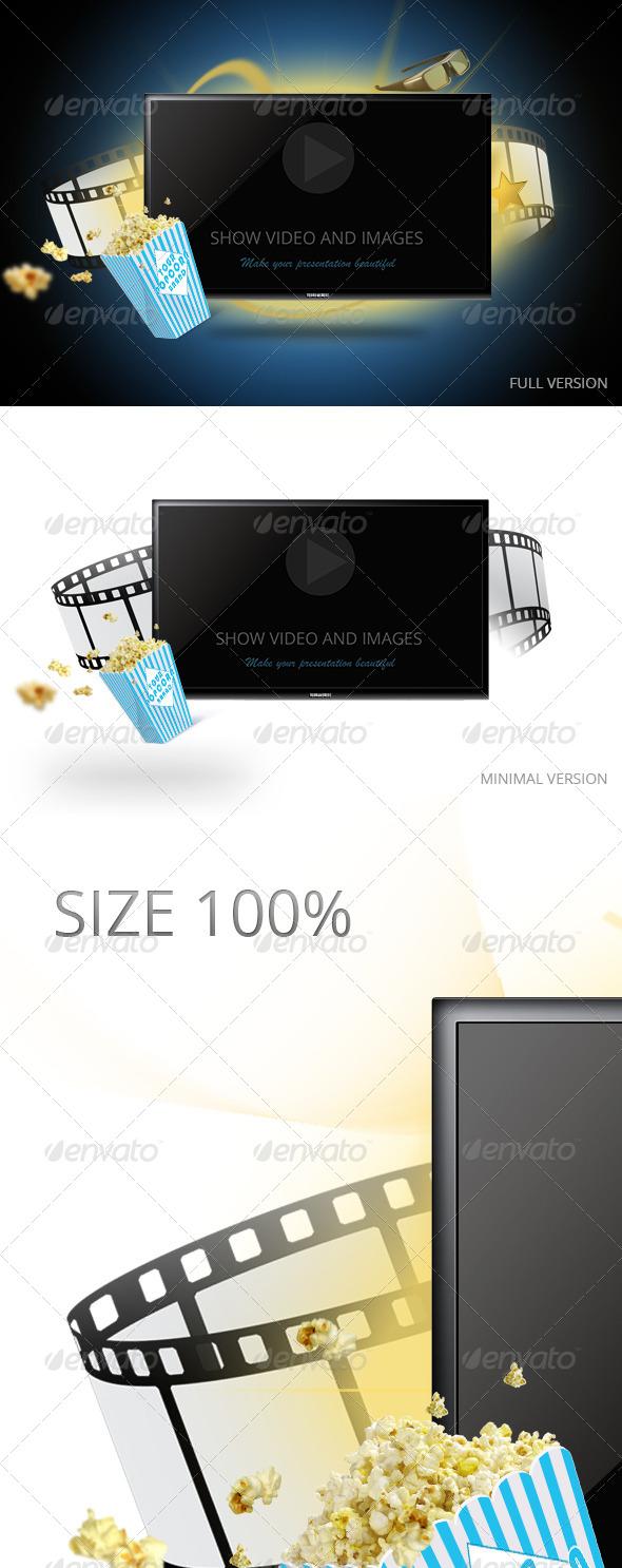 GraphicRiver Tv Display Screen Mockup 5318812