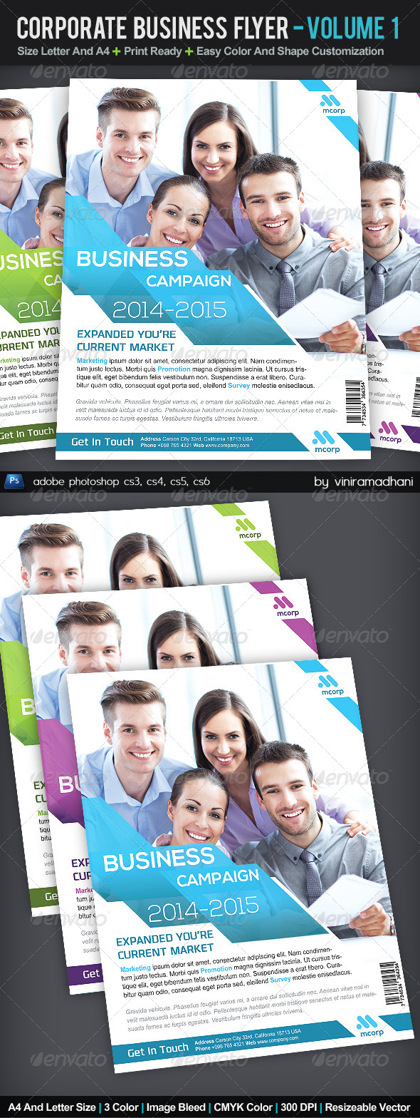 GraphicRiver Corporate Business Flyer Volume 1 5362805