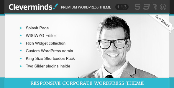 Cleverminds - Premium Business WordPress Theme - Business Corporate