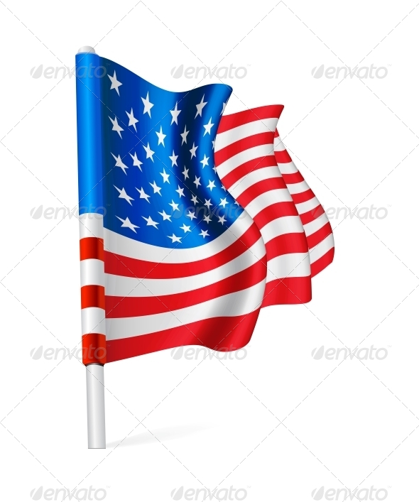 GraphicRiver Flag of the USA 5363045