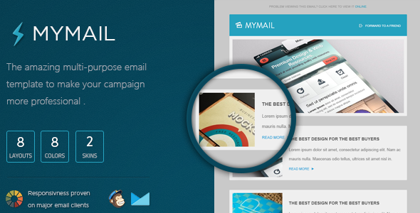 ThemeForest MyMail Responsive Email Template 5360884