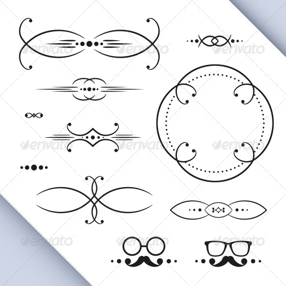 GraphicRiver Page Decoration Elements 5365469