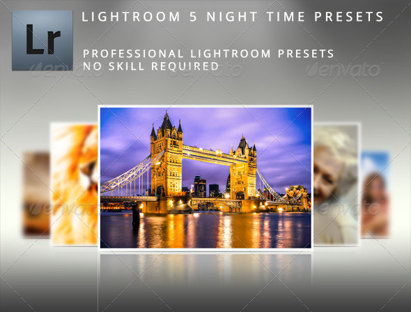 GraphicRiver Night Time Lightroom Presets 5365510