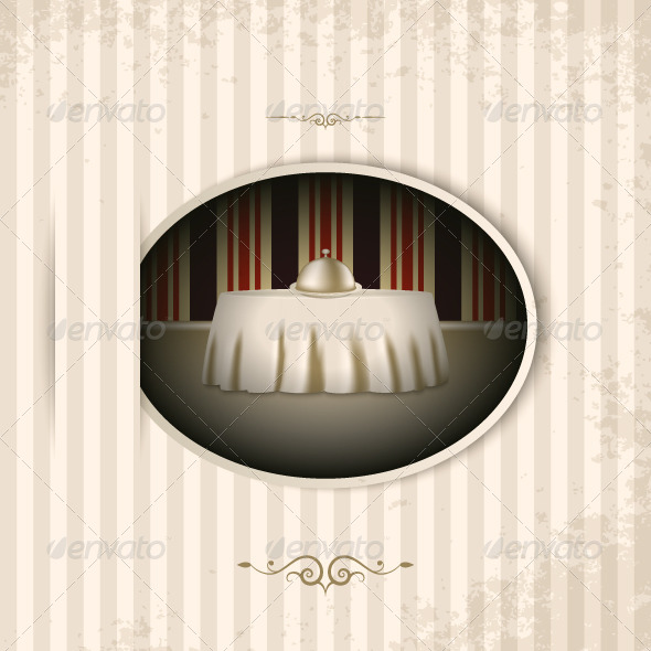 GraphicRiver Vintage Menu Background 5369888