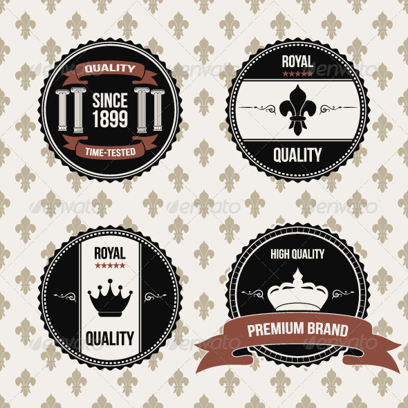 GraphicRiver Royal Quality Labels 5369997