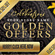 Golden Offers, Sales & Discounts Web Banners - GraphicRiver Item for Sale