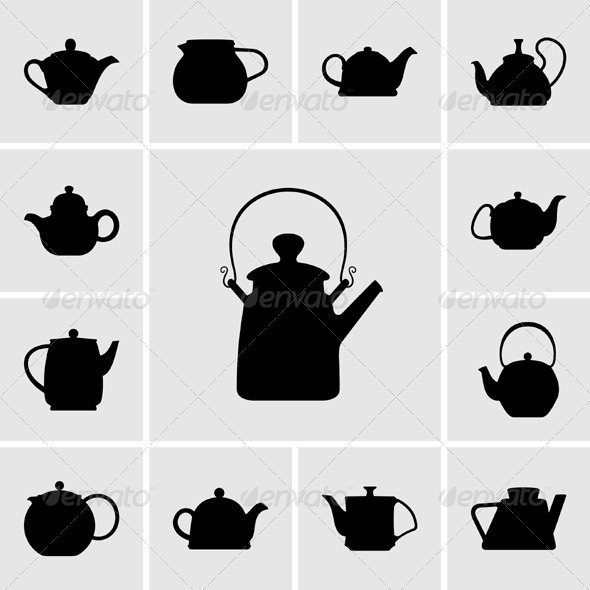 GraphicRiver Teapots 5372350