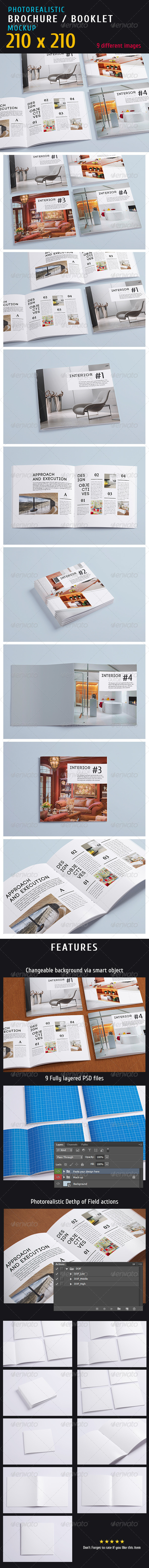 GraphicRiver Photorealistic Magazine Mock-up 5372415