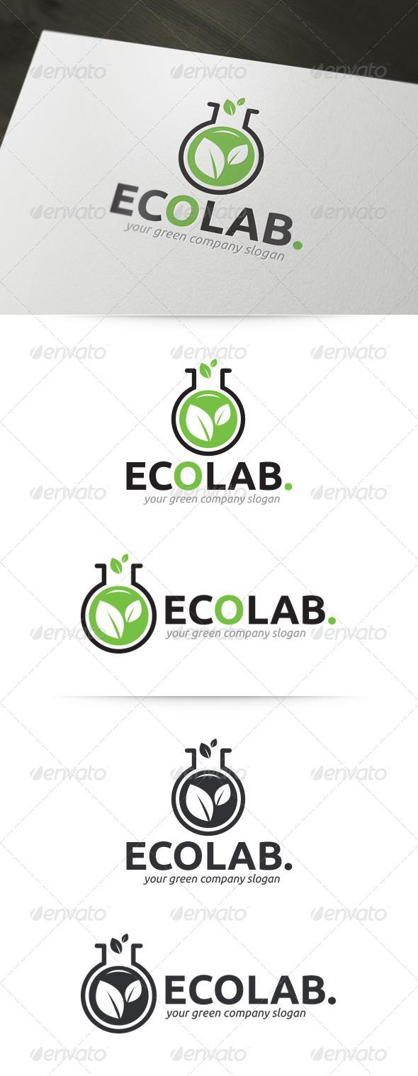 GraphicRiver Eco Lab Logo 5372753