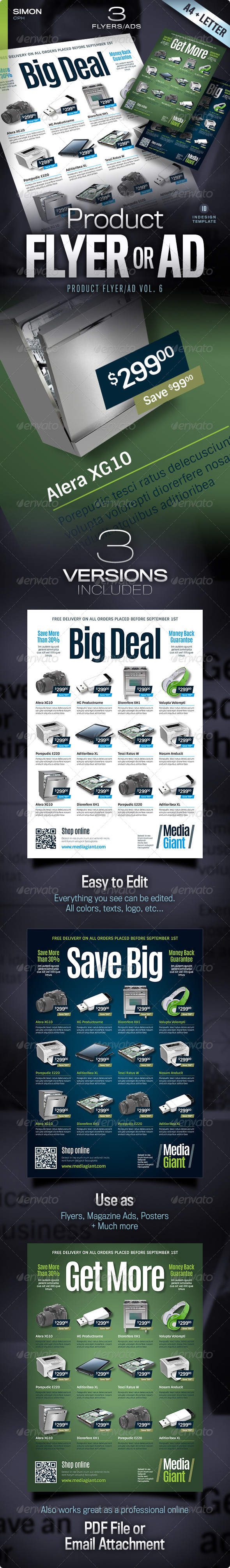 GraphicRiver Product Flyer Ad Vol 6 5372755
