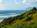 Rugged Rocky Beach on the Oregon Coast Overlook at Sundown - PhotoDune Item for Sale