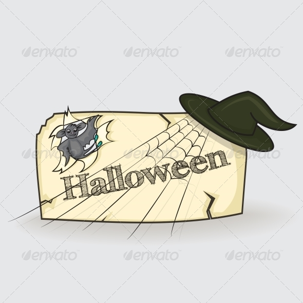 GraphicRiver Banner for Halloween 5373134