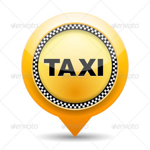 GraphicRiver Taxi Icon 5373869